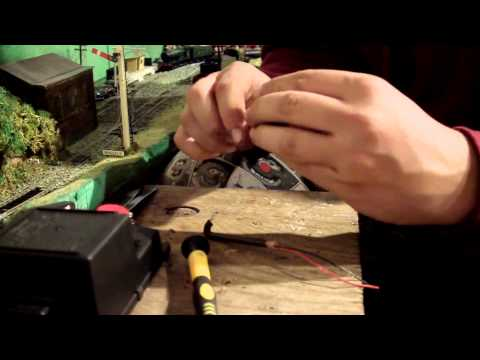How To Make OO HO Gauge Lamp Posts For Model Railway Layout Quick and Cheap