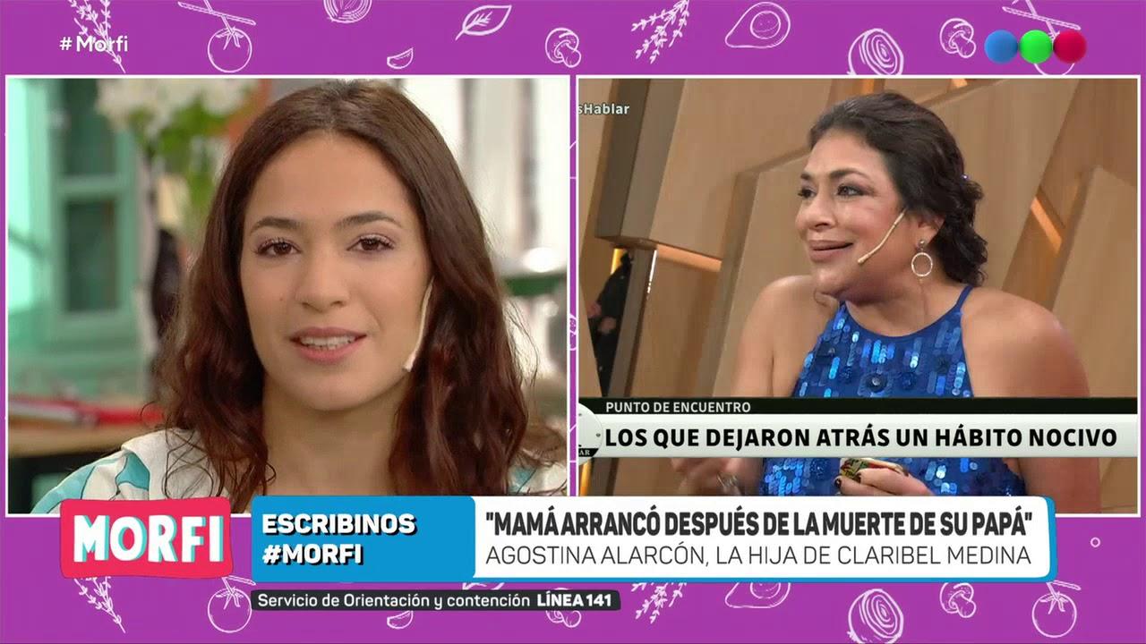 Agostina Alarcón, la hija de Claribel Medina habló de la adicción de su madre - Morfi