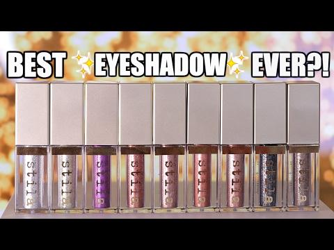 NEW Stila Glitter & Glow Liquid Eyeshadow | REVIEW + Swatches