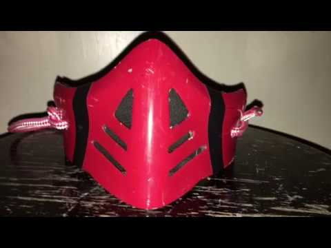 How To Make A Mortal Kombat Mask