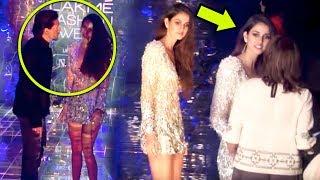 Tiger Shroff Saves GF Disha Patani From Wardrobe Malfunction At Lakme Fashion Week