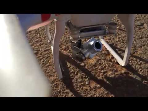 Phantom 2 Vision + Camera gimbal has life of its own