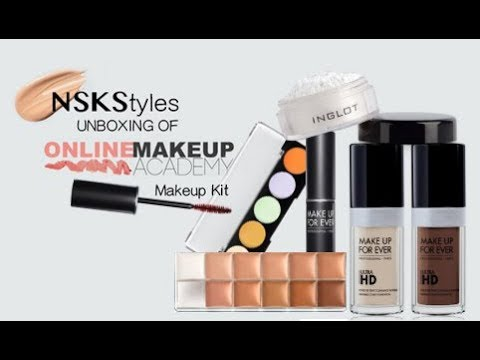 Dream Makeup Kit, UNBOXING review for Online Makeup Academy