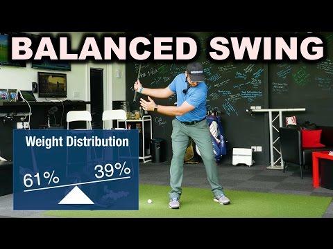 Achieve A Balanced Golf Swing