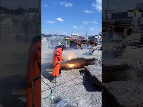 Lancing aluminum