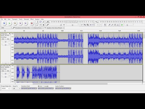 HOW TO MAKE YOUR TRACKS SOUND PROFESSIONAL USING AUDACITY 2.05