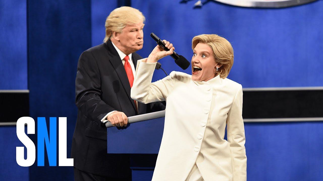 Donald Trump vs. Hillary Clinton Third Debate Cold Open - SNL