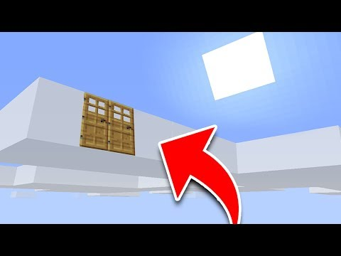 How to Live inside a CLOUD in Minecraft Tutorial! (Pocket Edition, PS4/3, Xbox, PC, Switch)