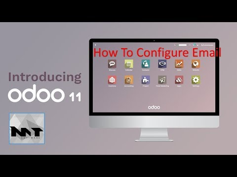 How to Configure Email on Odoo 11