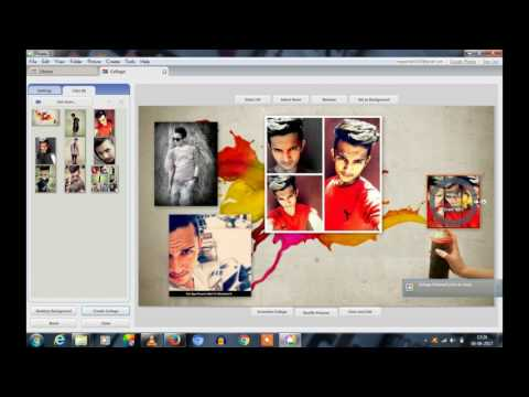 How To Make Beautiful Photo Collage Using Pc 2017 Latest Video
