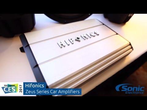 Hifonics Zeus Series Car Audio Amplifiers   CES 2017