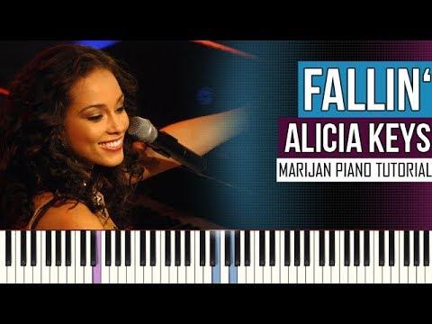 How To Play: Alicia Keys - Fallin' | Piano Tutorial