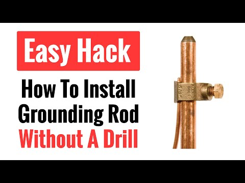 How to Install a Copper Grounding Rod The Easy Way (No Drill)