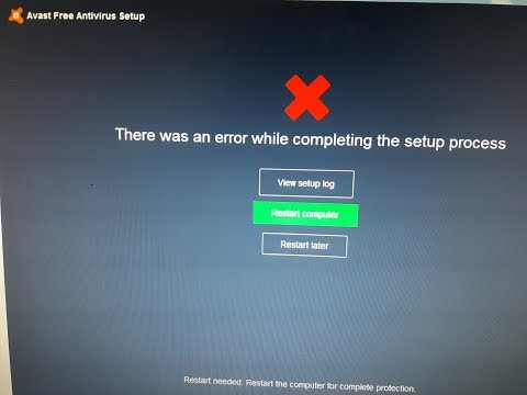 There was an error while completing the suptup process