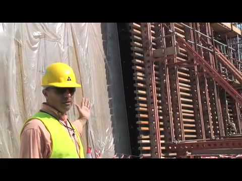 RMD Kwikform formwork in action at the New Doha Airport