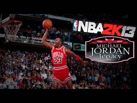 NBA 2K13 - Michael Jordan - Young Jordan!