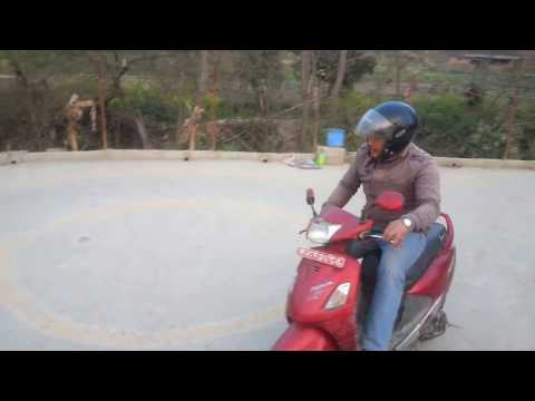 Scooty trial for license 2074