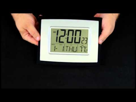 WT-8002U Digital Wall Clock