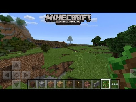 Minecraft Pocket Edition Demo Android Gameplay