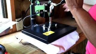 My New Heat Press Machine