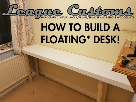 How To NOT build A Floating Desk