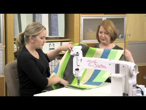 Machine Quilting Borders the Easy Way