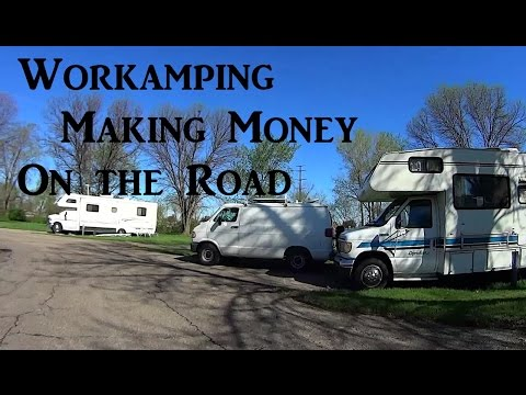Summer Workamping Job Living on the Road