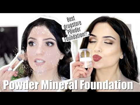 Powder Foundation?! | POWDER Foundation Routine | DRUGSTORE