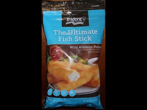 Trident Seafoods: The Ultimate Fish Stick Wild Alaskan Pollock Review