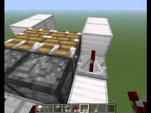 Minecraft: Piston Elevator (Working 1.7)