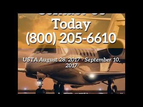 Call Now London To NYC   USTA Open 2017   Jet Charter Specials ACT