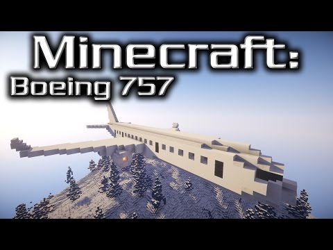 Minecraft: Boeing 757 Tutorial