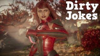 Mortal Kombat 11 : Dirty Jokes Into Dialogues