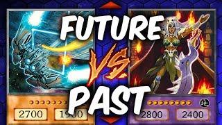 SPACESHIPS! Yugioh PAST vs FUTURE (YU-GI-OH! Themed Decks)