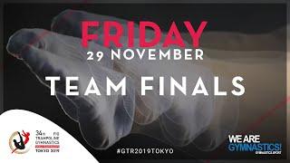 2019 Trampoline Worlds Finals Day 1