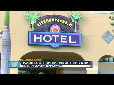 Man kicked out of Seminole Casino