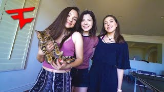 MY LITTLE SISTERS VISIT THE FAZE HOUSE!!