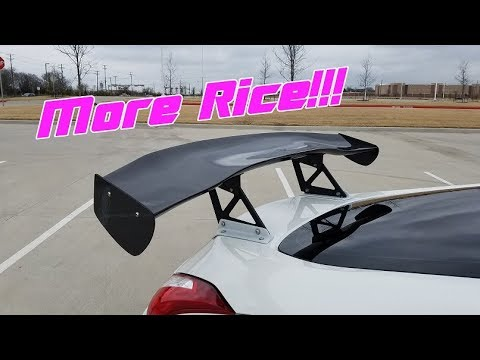 How To: GT Spoiler Install on a 370Z