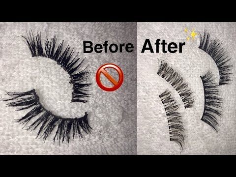 HOW TO CLEAN YOUR OLD LASHES