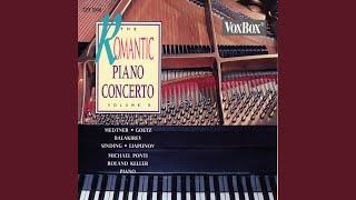 Piano Concerto No 3 In E Minor Op 60 Ballade I Con Moto Largamente
