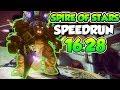 Destiny 2 - Spire of Stars Raid Speedrun in 16:28