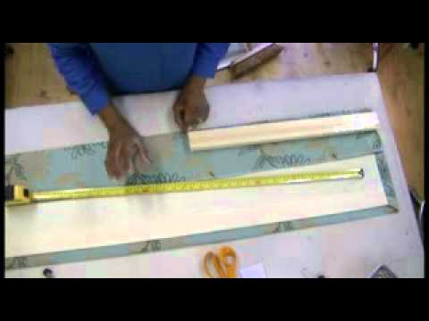 How to make Goblet Curtains or Valances Part 1