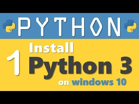 Python tutorial 1: How to Install Python 3 on Windows 10 in 2019 by Manish Sharma