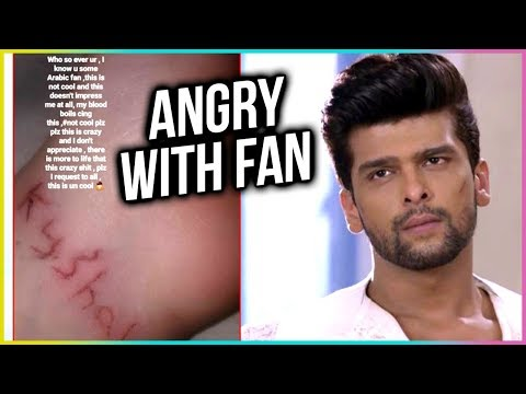 Kushal Tandon ANGRY With Fan For CUTTING Her Hand For Him