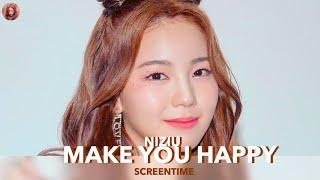 NiziU - Make You Happy (Focus/Solo ScreenTime Distribution)