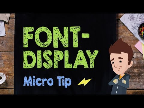 Font-Display: Micro Tip #14 - Supercharged