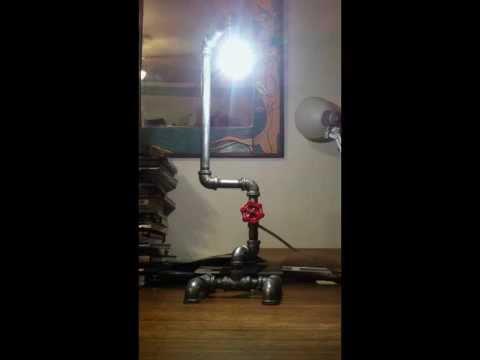 Pipe lamp idea