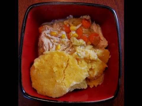 Slow Cooker Sunday: Chicken Stew with Cornmeal Dumplings