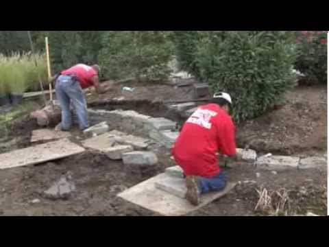How to Build a Dry-Stacked Rockwall- Meadows Farms Landscaping