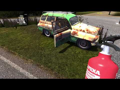 Taking Care of the Wasps Attempt #1 - My Summer Car